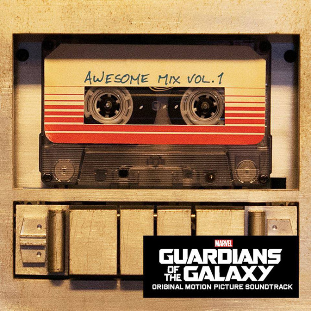 guardians of the galaxy soundtrack cover