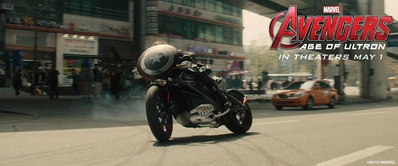 Avengers Age Of Ultron Bike
