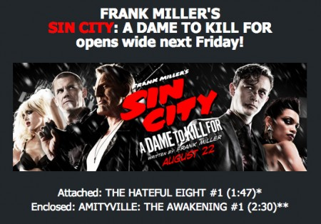 Hateful Eight Sin City Dame Kill For Image
