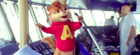 Alvin and the Chipmunks voiced by Justin Long