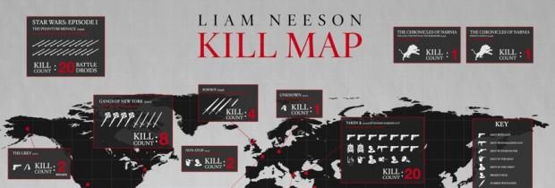 liam neeson kill count header image