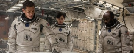 Interstellar starring Matthew McConaughey Anne Hathaway David Oyelowo