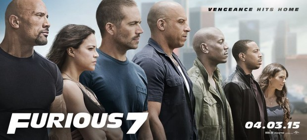 furious 7 poster image