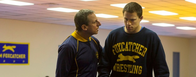 foxcatcher steve carrel channing tatum
