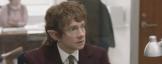 martin freeman the hobbit office snl mashup
