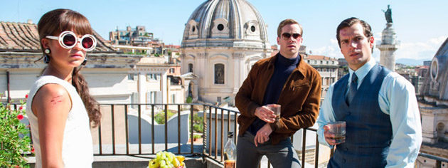 The Man From U.N.C.L.E. starring Armie Hammer and Henry Cavill