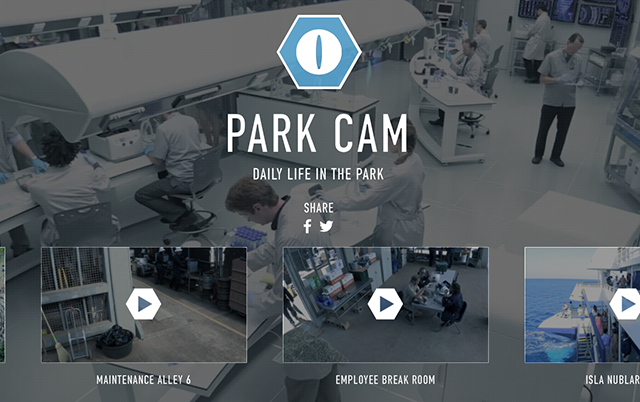Jurassic World Park Cam Page