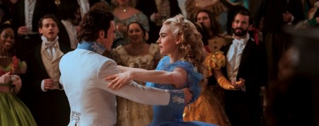 Cinderella starring Lily James and Richard Madden