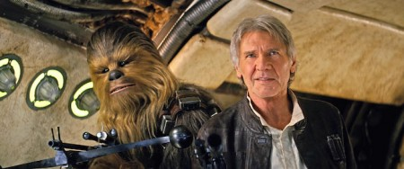 Harrison Ford in Star Wars: Episode VII - The Force Awakens