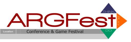 Location and Dates Set for ARGFest 2010
