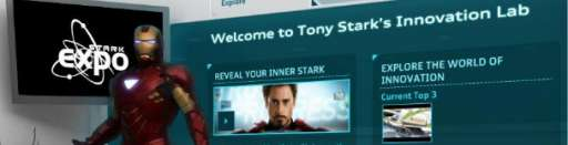 Iron Man 2: Audi-Tony Stark Innovation Challenge and Whiplash Online Game