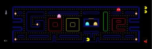 Pac-Man Anniversary Brings Best Google Doodle Ever