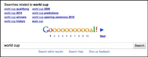 Soccer News: Latest Google Doodle and Woody Harrelson Kicks Winning Goal