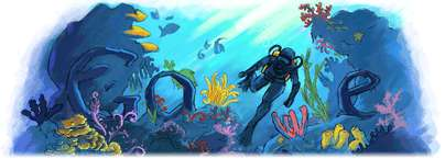 Google Viral: Jacques-Yves Cousteau (and World Cup)