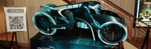 Disney Makes Theater Stop Unofficial Viral Marketing For Tron Legacy