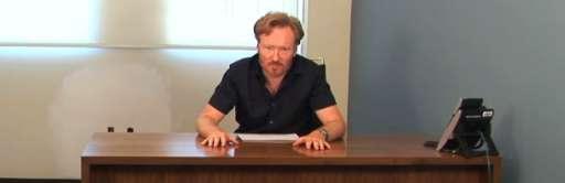 Conan O'Brien Announces The Name of His New Show