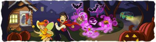 Google Stretches Doodle Concept in Scooby-Doo Logos