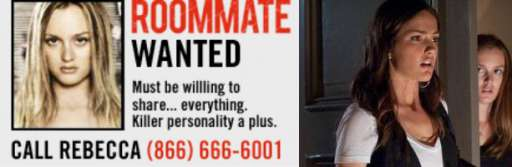 """Rebecca is Looking for the Perfect """"Roommate"""""""