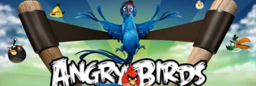 """Angry Birds Teams Up With """"Rio"""""""