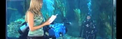 """James Cameron Interviewed Underwater for """"Sanctum"""""""