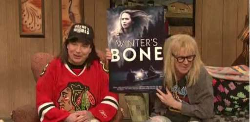 Watch Wayne and Garth Talk About the Academy Awards