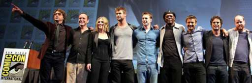"Get Ready For ""The Avengers"" at Comic-Con"