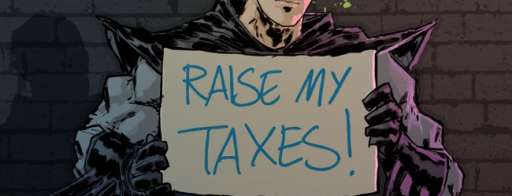 The Dark Knight May Occupy Wall Street, Not As The One Percent