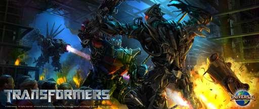 Universal Studios' Transformers Ride Gets Viral Website