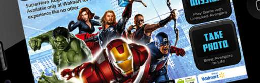 Save the World From the Aisles of Walmart with The Avengers AR App!