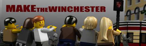 "LEGO Rejects ""Shaun of the Dead"" Winchester Playset"