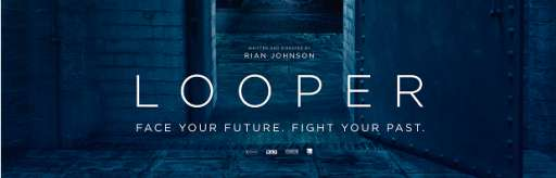 """New UK Poster For """"Looper"""" Leads To Viral Website and New Image"""