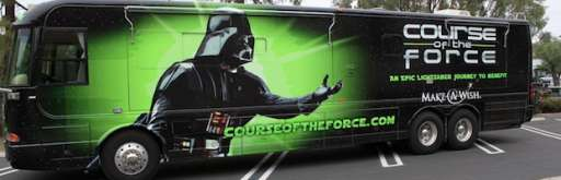 """""""Course of the Force"""" Lightsaber Relay Goes to Comic-Con"""
