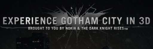 Nokia Creates Interactive 3D Map of Gotham City