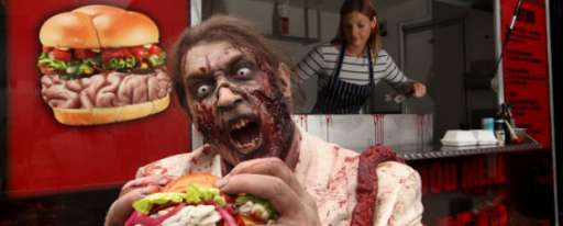 """New UK Food Truck Feeds Your Inner Zombie [And Promotes Release Of """"The Walking Dead"""" Season 2 DVD]"""