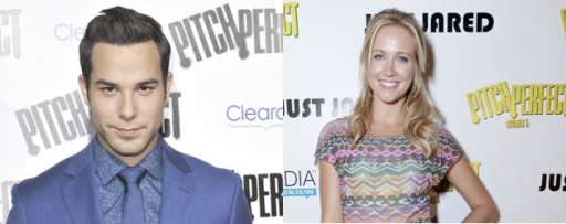 """Pitch Perfect"" Interviews: Anna Camp & Skylar Astin Reminisce About Vomit, Exhausting Production, And Bursting Out In Song"