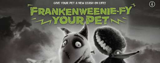 Frankenweenie-fy Your Pet With Facebook App