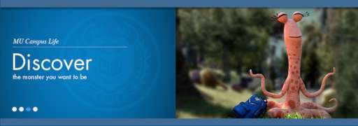 """Explore """"Monsters University"""" With New Viral Website"""
