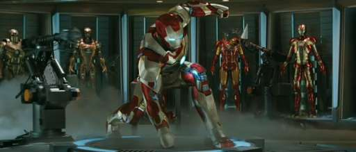 "First Trailer For ""Iron Man 3"" Is Explosive In More Ways Than One"