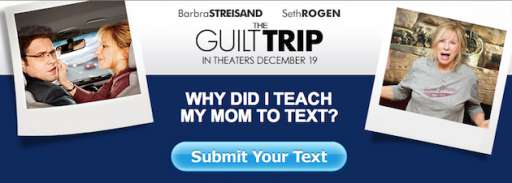 """""""The Guilt Trip"""" Asks """"Why Did I Teach My Mom To Text""""?"""
