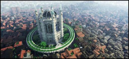 """Kings' Landing From """"Game of Thrones"""" Recreated In Detail on Minecraft"""