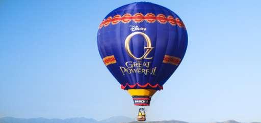 "Journey to Oz Balloon Tour Takes To The Skies To Promote ""Oz The Great and Powerful"""
