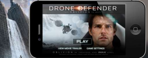 "Become a ""Drone Defender"" In New Mobile App for Universal's ""Oblivion"""