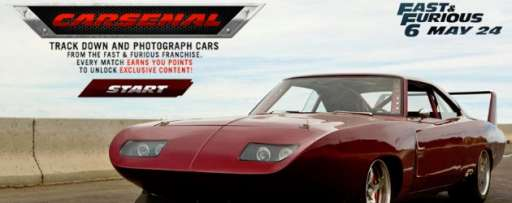 "Unlock Exclusive Content for ""Fast & Furious 6"" By Photographing Cars From The Fast & Furious Franchise"