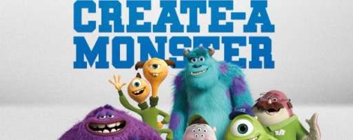 "Picture Yourself In Monster Form With The ""Monsters University"" Create-A-Monster App"