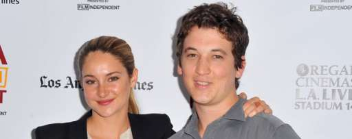 """The Spectacular Now"" Interview: Miles Teller & Shailene Woodley Talk Co-Stars, ""Divergent"", What They Learned While On Set, & More"