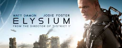 """Elysium"" Review: Supercharged Visuals And Kinetic Action Helps Make Up For It's More Familiar Elements"