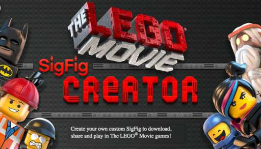 Create Your Very Own 'The LEGO Movie' Sig Fig