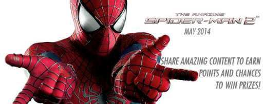"Help Promote ""The Amazing Spider-man 2"" To Earn Points And Plenty Of Fantastic Prizes"