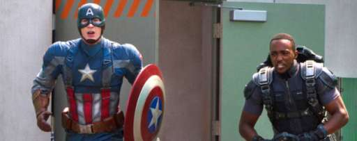 Captain America Comes To Disneyland For A Meet And Greet