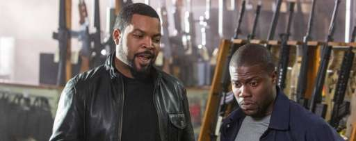 "Kevin Hart & Ice Cube Talk ""Ride Along"", On Screen Chemistry, Mutual Respect, And More"